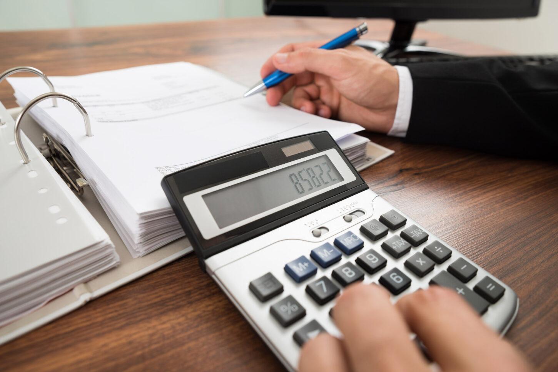 Taschenrechner und Dokumente
